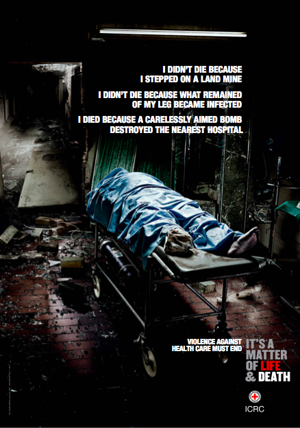 (C) ICRC campaign on health service protection